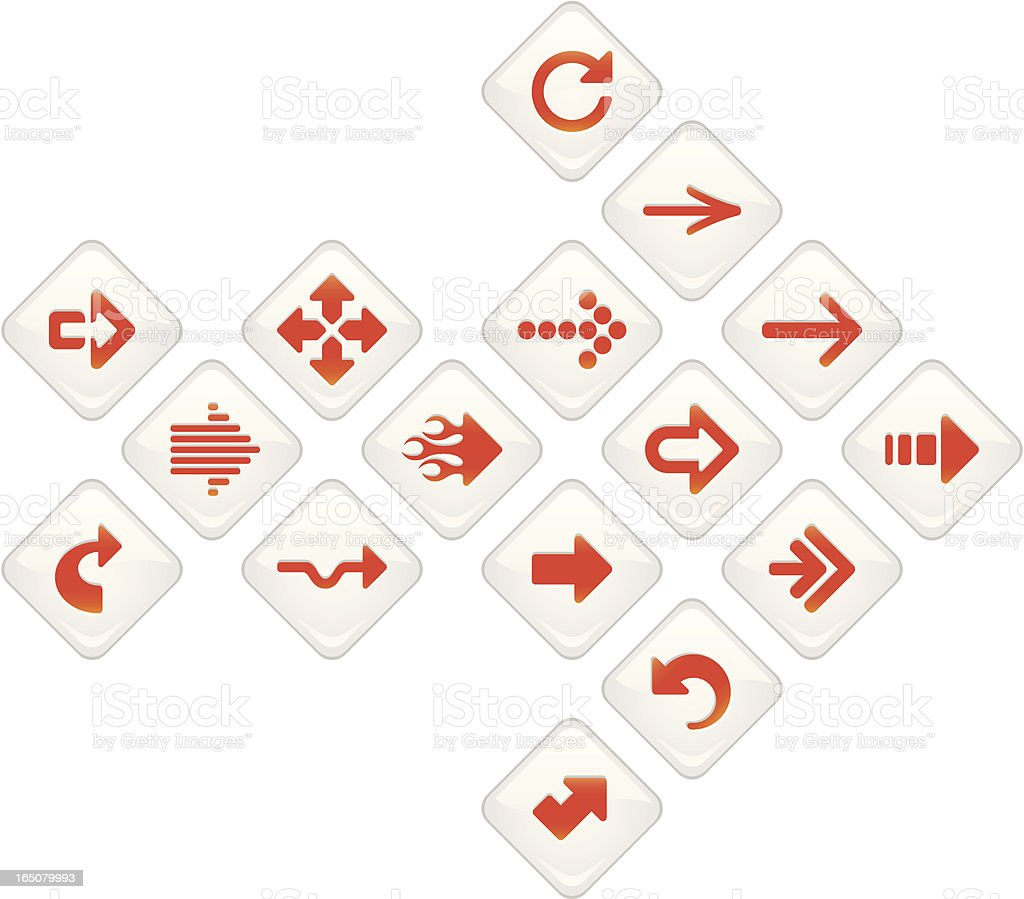 Arrow Icons royalty-free arrow icons stock vector art & more images of accessibility
