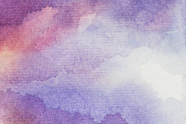 art abstract background watercolor on paper art abstract background watercolor on paper violet flower stock illustrations