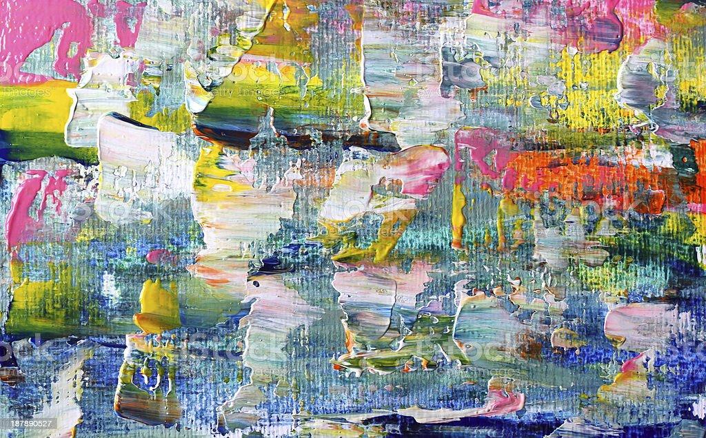 Art abstract paint vector art illustration