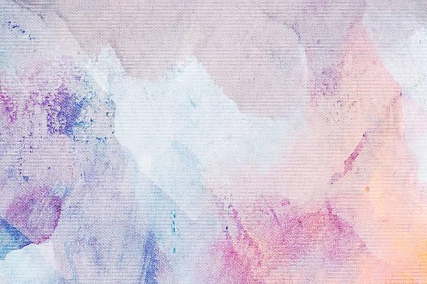 art abstrait peinture sur toile texture d'arrière-plan - Illustration vectorielle
