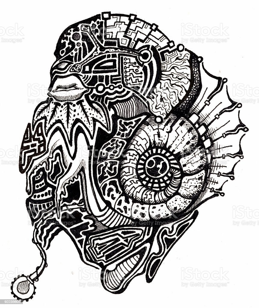 Art - Aquatic Conglomerate vector art illustration