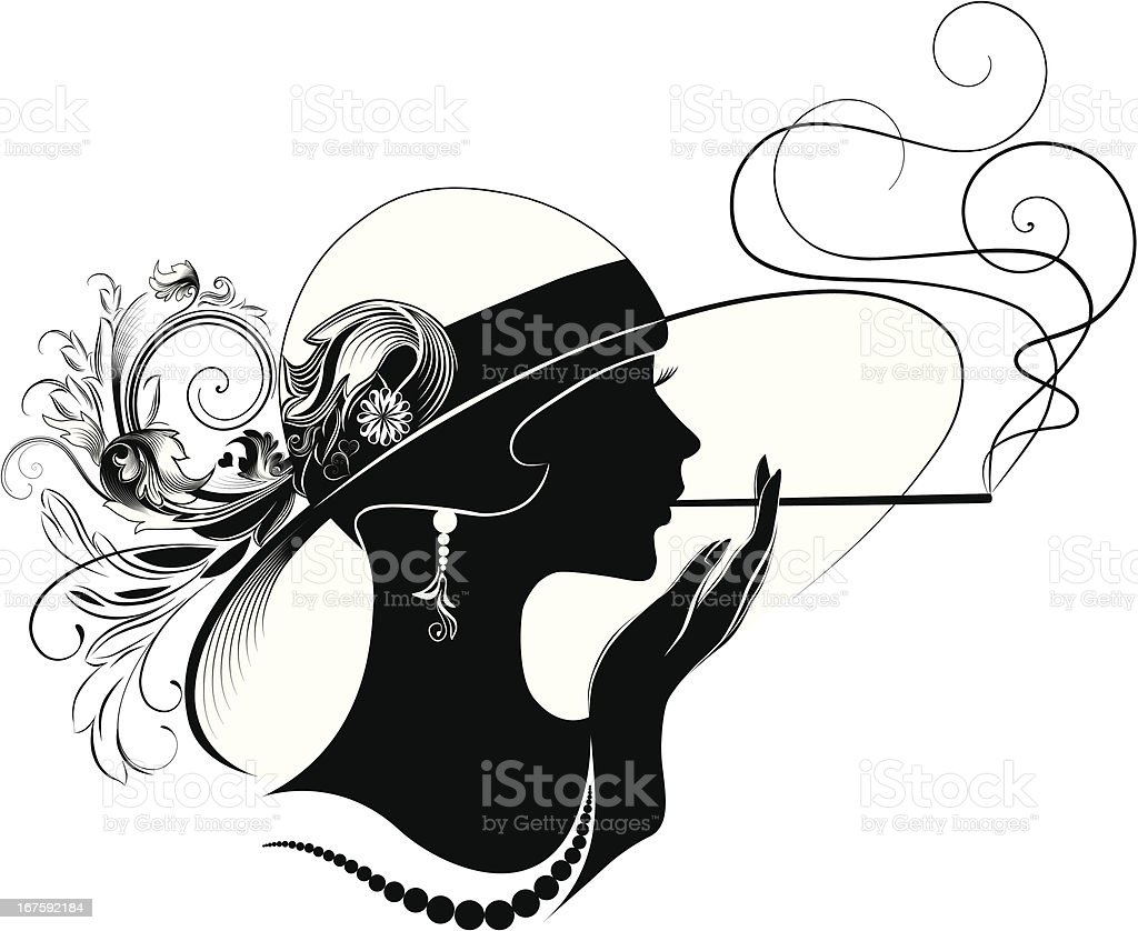 Art deco beauty stock vector art more images of abstract for Art deco illustration