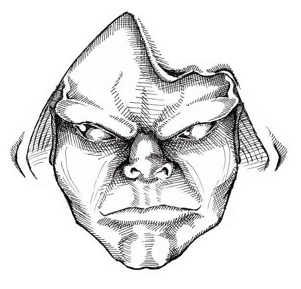 Art - Druid vector art illustration