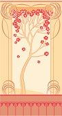 Art Nouveau, tree