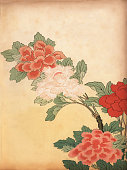 istock Art of Japan, Chrysanthemum flowers 1085027846
