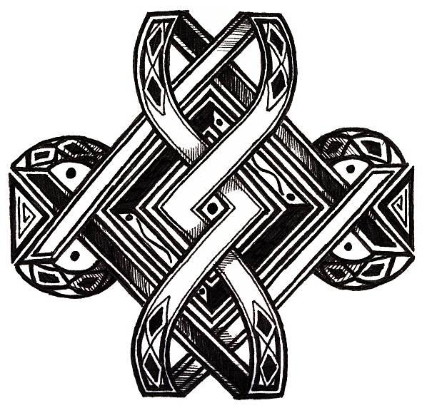 Art - Tribal vector art illustration