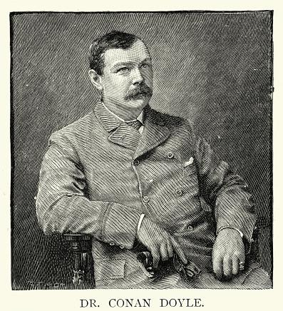 Arthur Conan Doyle, British writer, creator of Sherlock Holmes