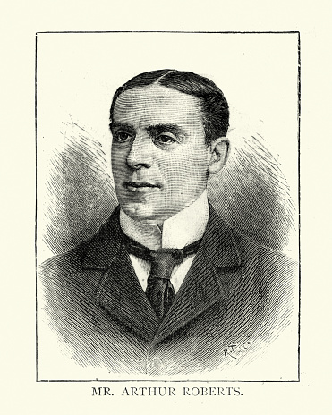 Arthur Roberts, English comedian, music hall entertainer and actor