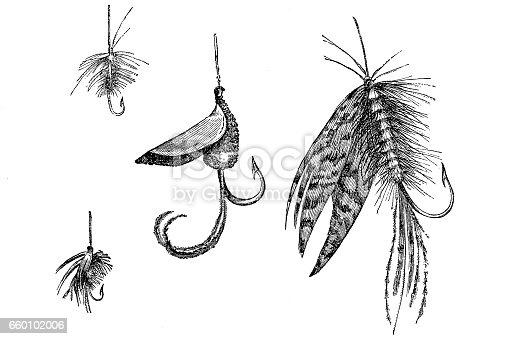 Artificial fishing lures set