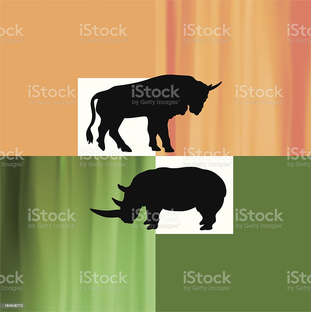 Artiodactyls (vector) royalty-free artiodactyls stock vector art & more images of abstract