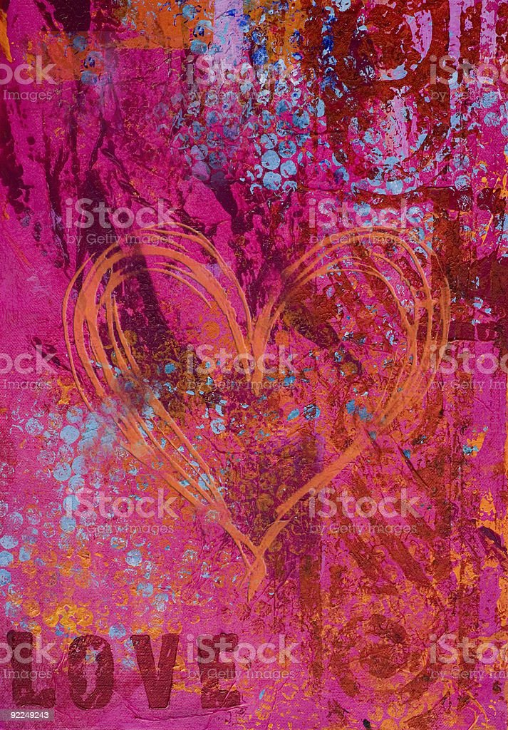 artwork background love royalty-free stock vector art