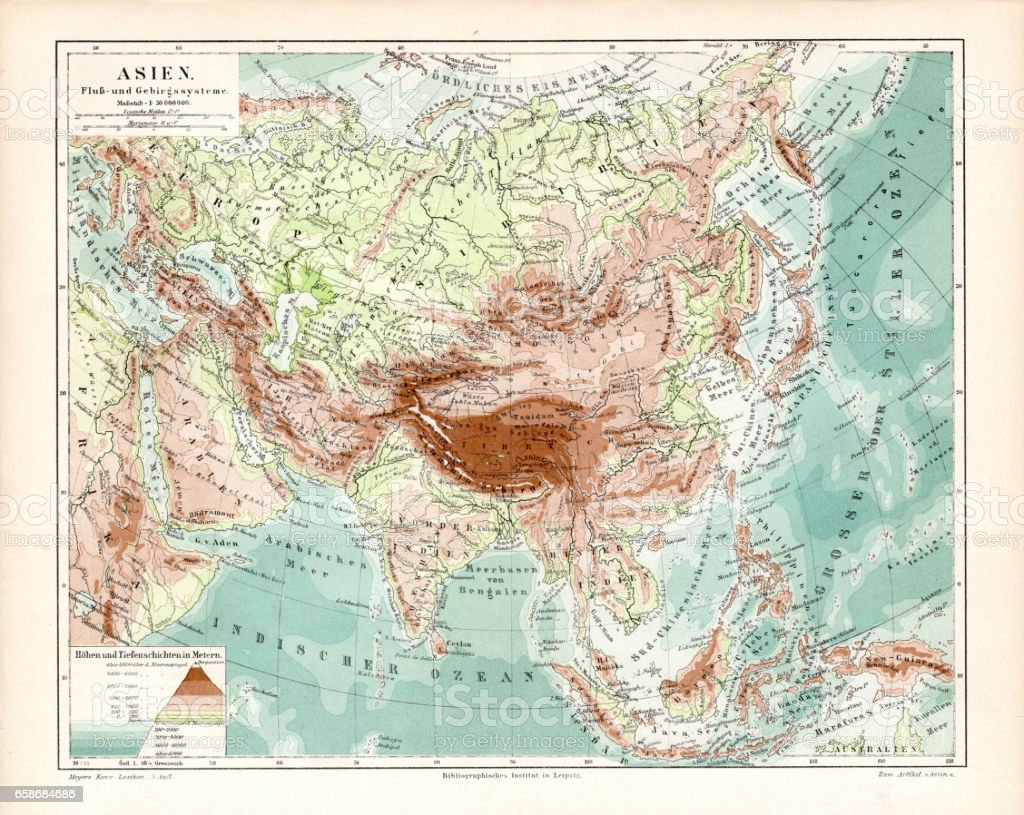Asia Geological Map 1895 Stock Illustration - Download Image ... on map of asia with asia, map of east asia only, mapa politica asia, lanzhou on a political map of asia, map of asia and america, 1940s map of europe and asia, map od asia, map of asia 2013, full map of asia, map of asia countries, whole map of asia,