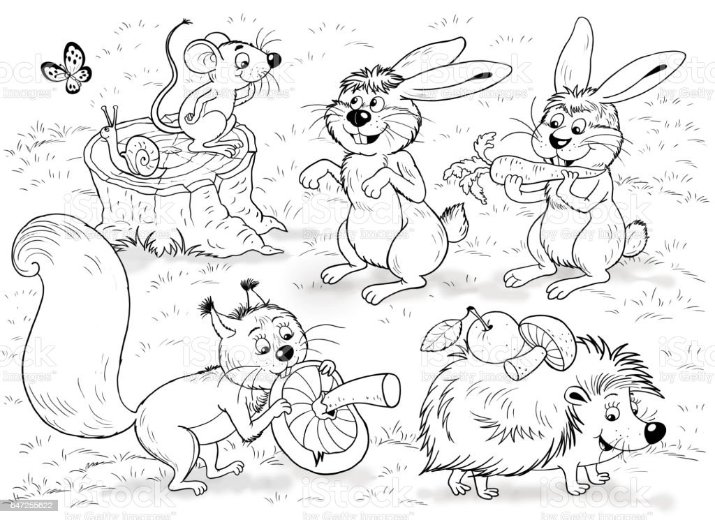 Woodland fox coloring pages Coloring masks animal masks kid party ... | 745x1024