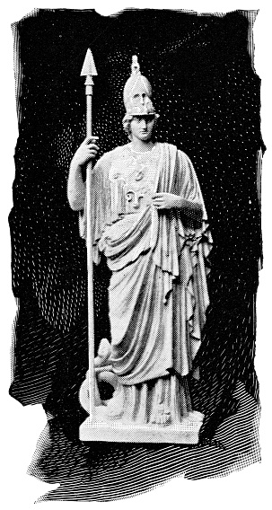 Athena Giustiniani Statue - 5th Century BC