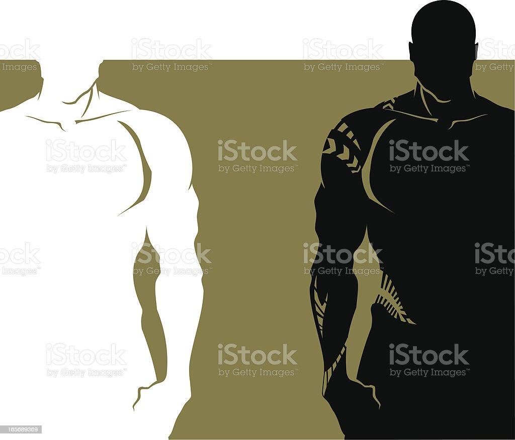 Athlete royalty-free stock vector art