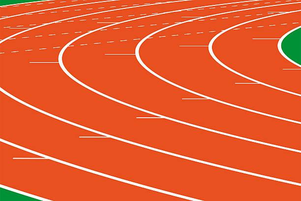Best Running Track Illustrations, Royalty-Free Vector