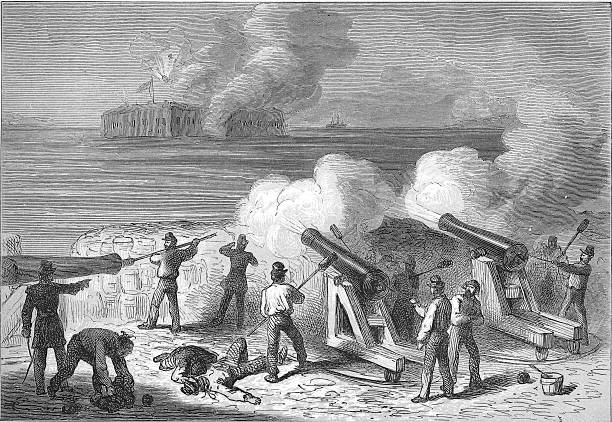an analysis of the united states civil war and the capture of fort pickens and fort sumter