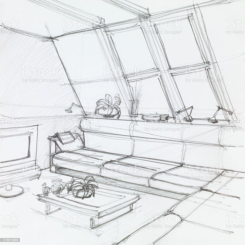 royalty free attic clip art  vector images  u0026 illustrations