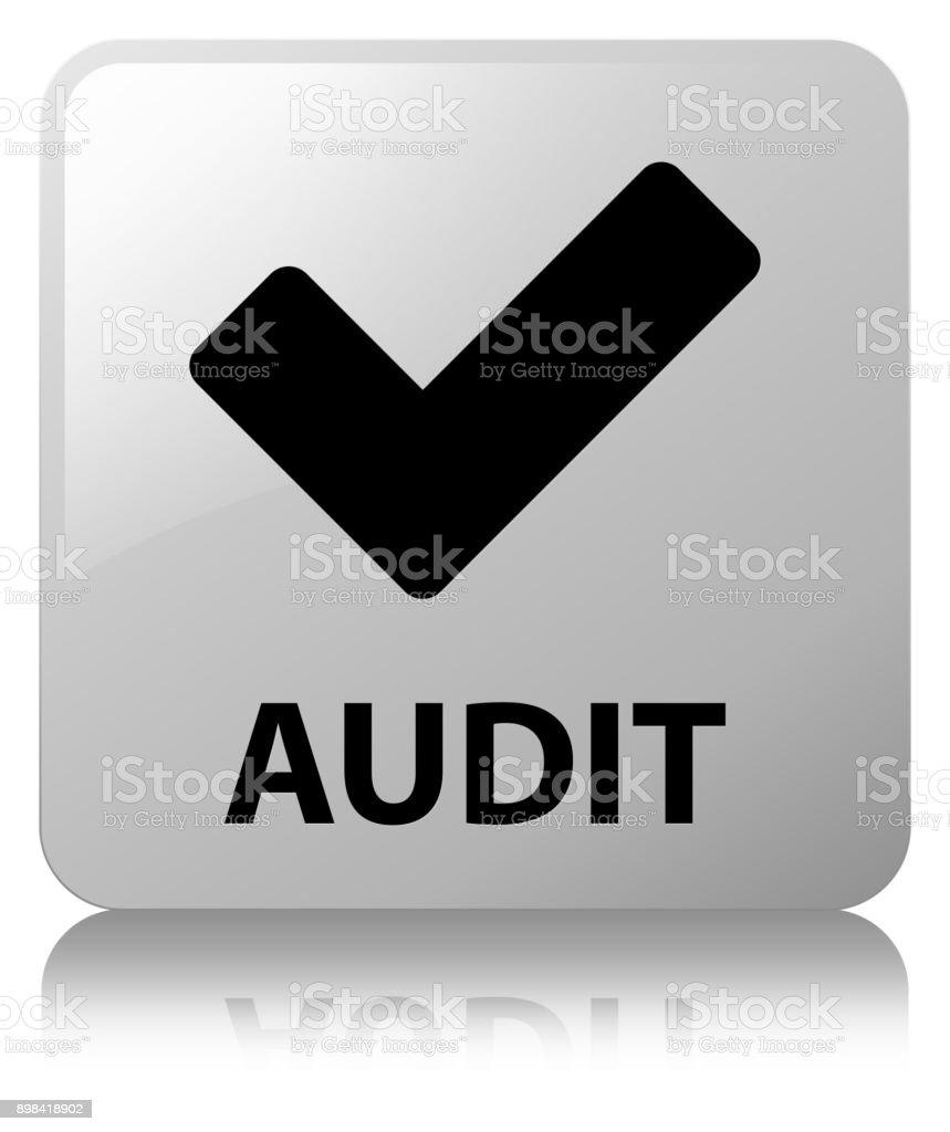 V Rification Bouton Carr Blanc Stock Vecteur Libres De Droits