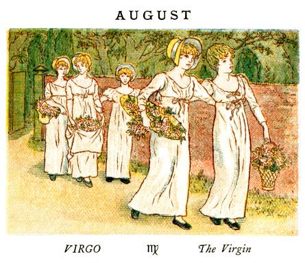 August - Kate Greenaway, 1884