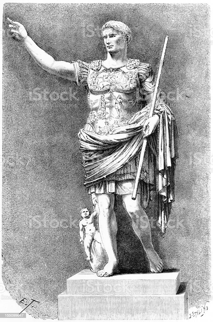 Augustus royalty-free augustus stock vector art & more images of 19th century style