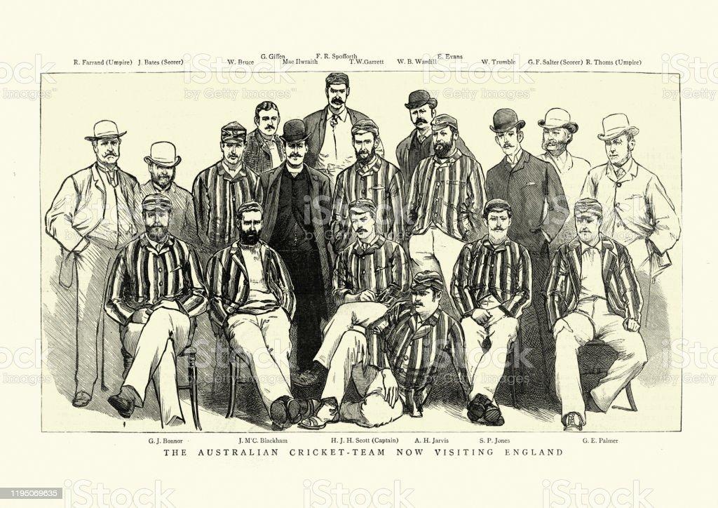 イングランドのオーストラリアのクリケットチーム1886年 - 1880~1889 ...