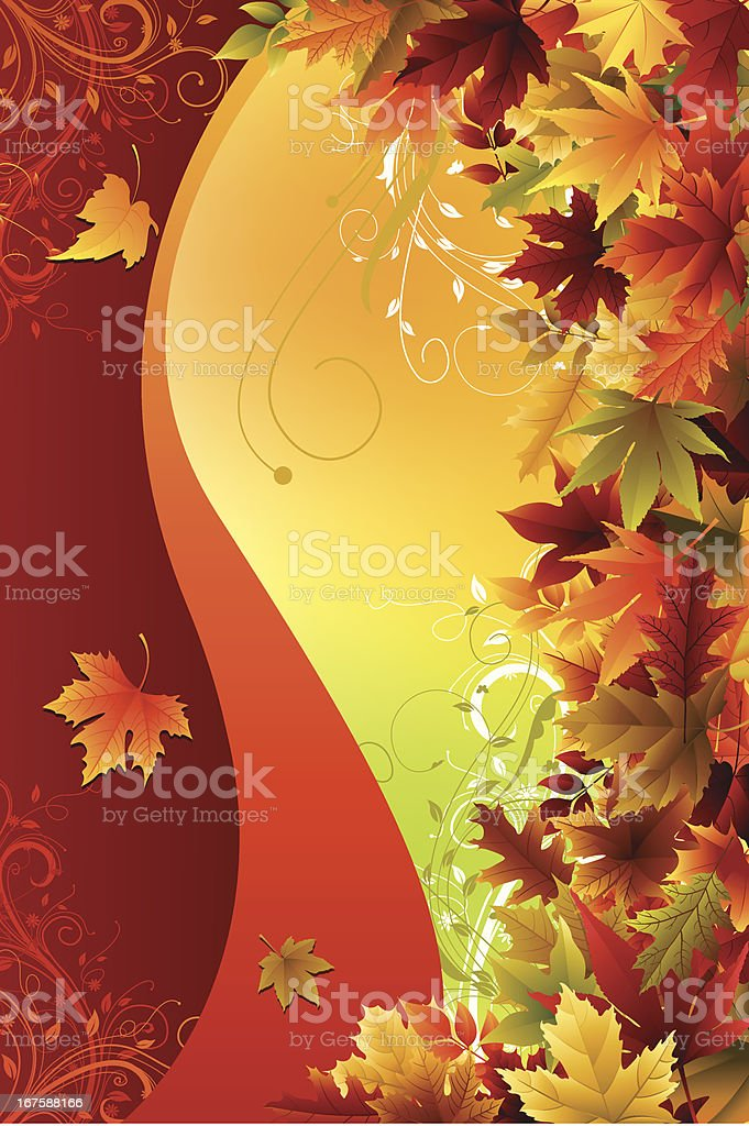 Autumn Background royalty-free autumn background stock vector art & more images of autumn