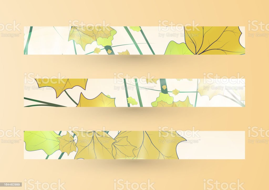 Autumn banner royalty-free autumn banner stock vector art & more images of abstract