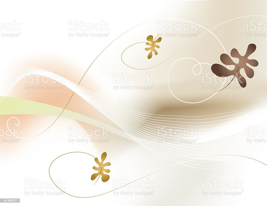 Autumn Elegance royalty-free stock vector art