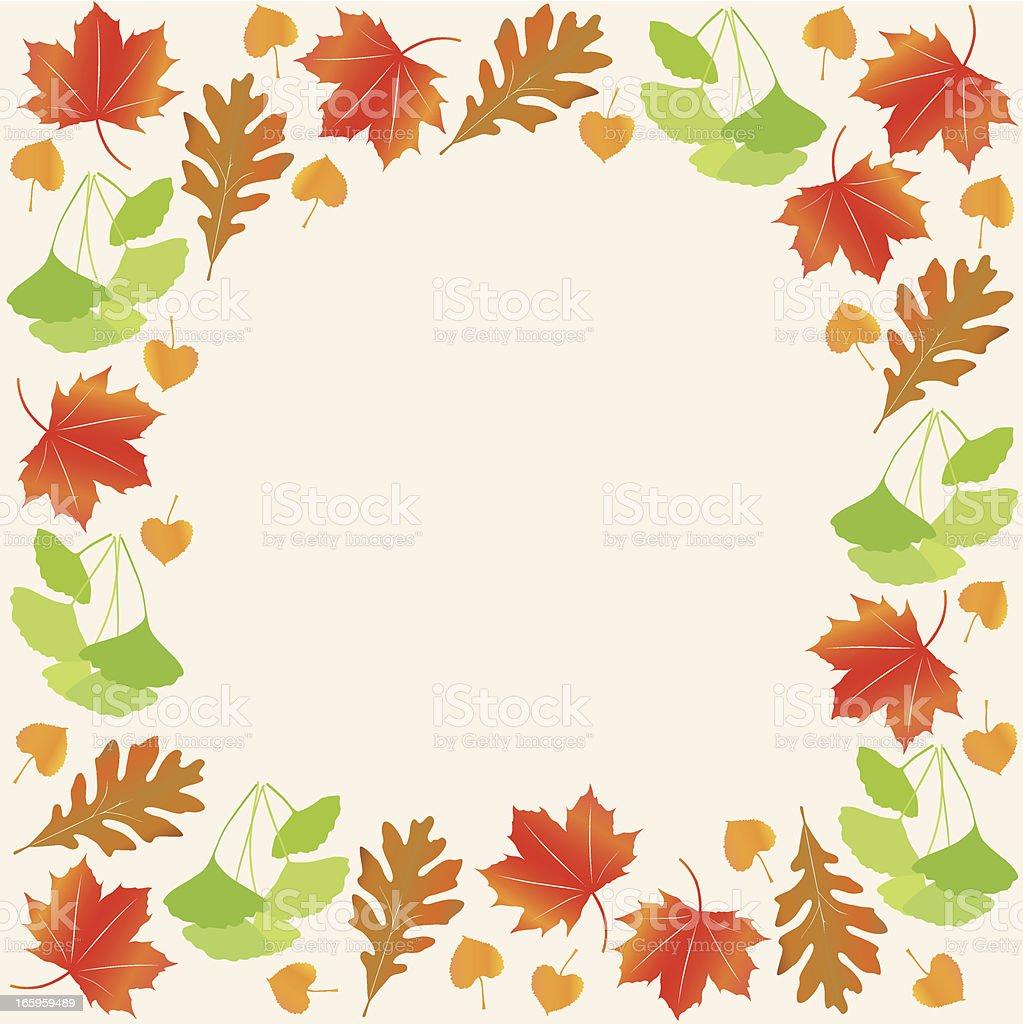autumn leaf frame royalty-free autumn leaf frame stock vector art & more images of autumn