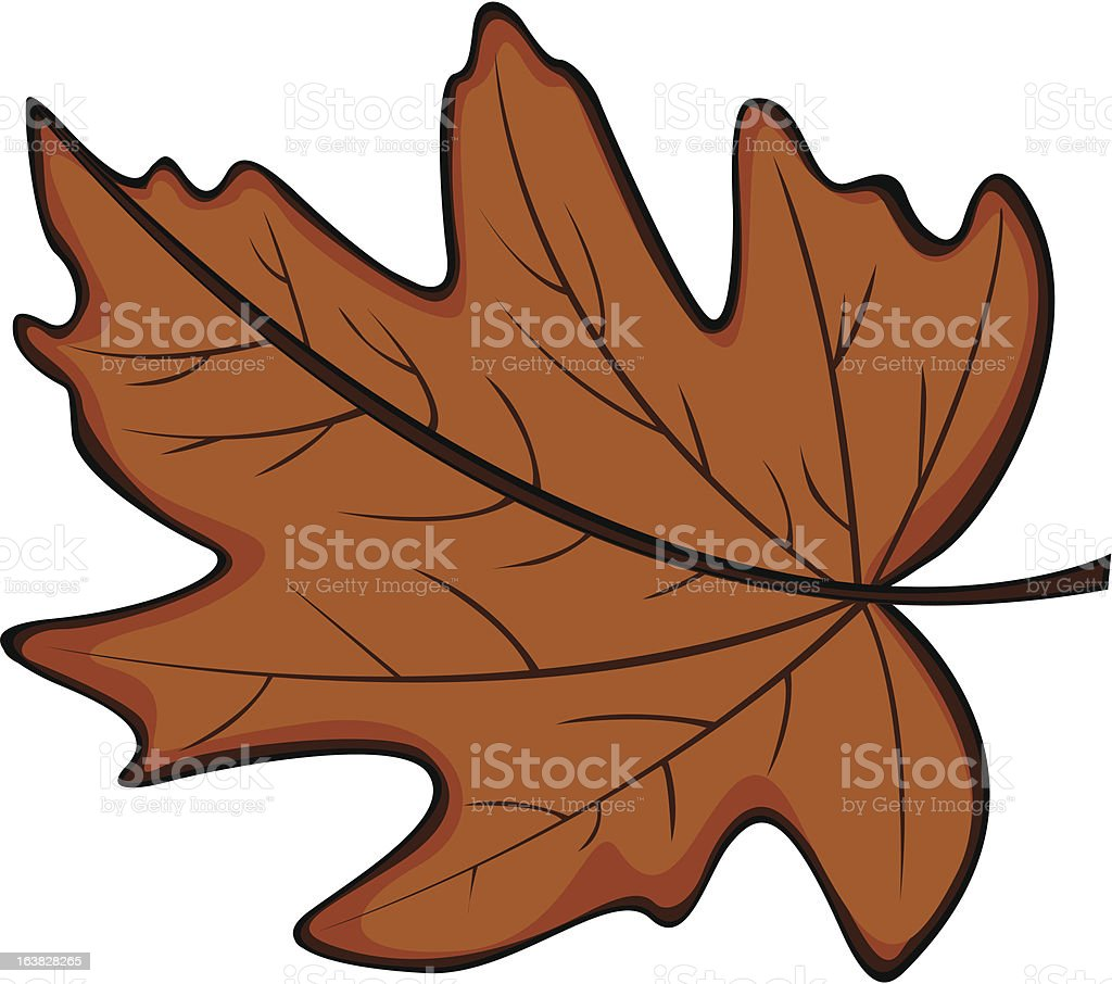 Autumn Leaf royalty-free autumn leaf stock vector art & more images of autumn
