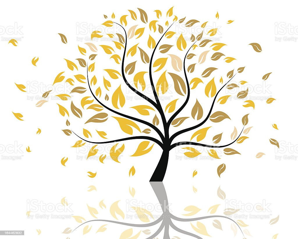 Autumn tree royalty-free autumn tree stock vector art & more images of abstract