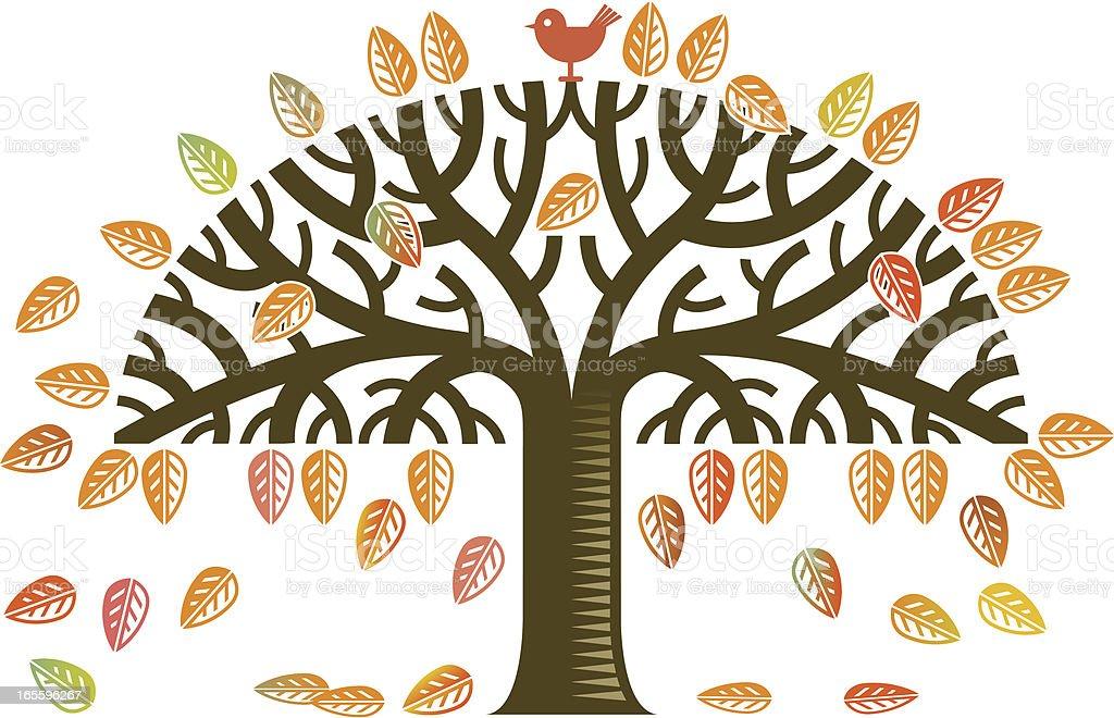 Autumn tree royalty-free autumn tree stock vector art & more images of autumn
