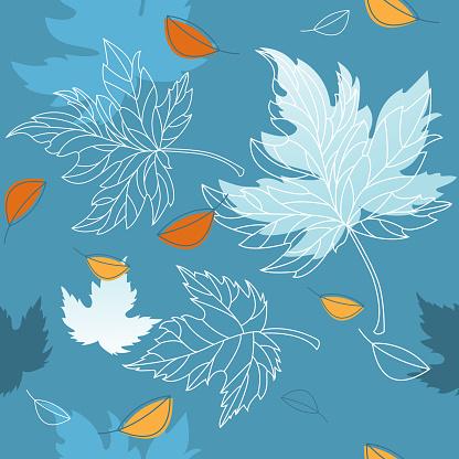 Autumn Turning to Winter Foliage
