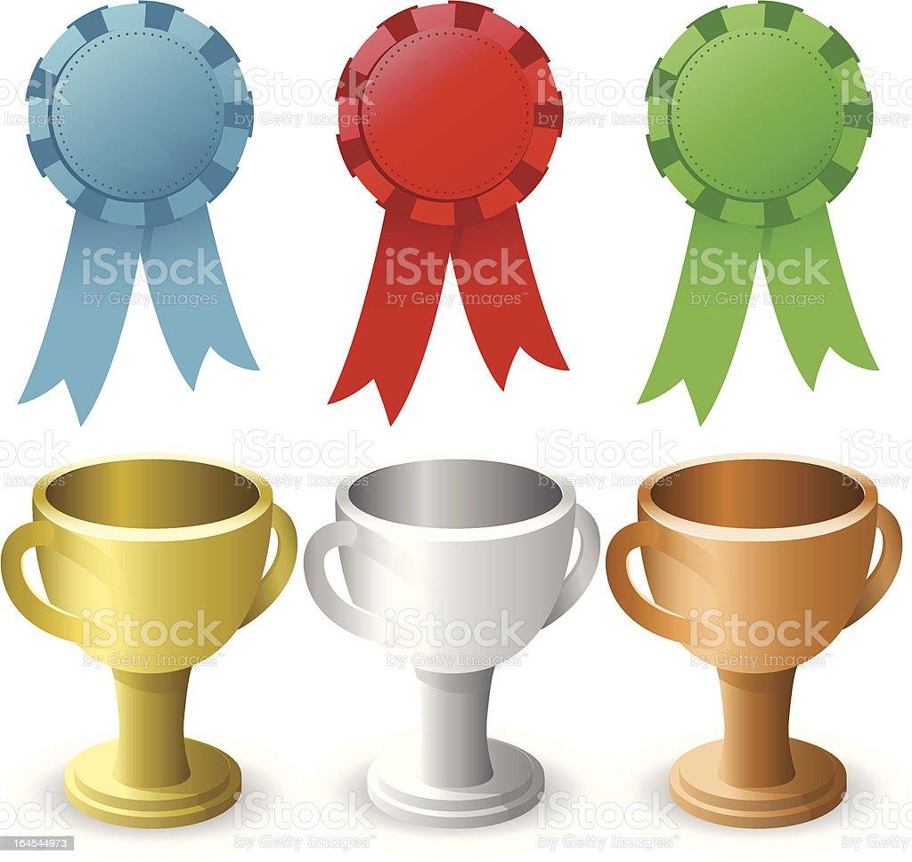 Awards royalty-free stock vector art