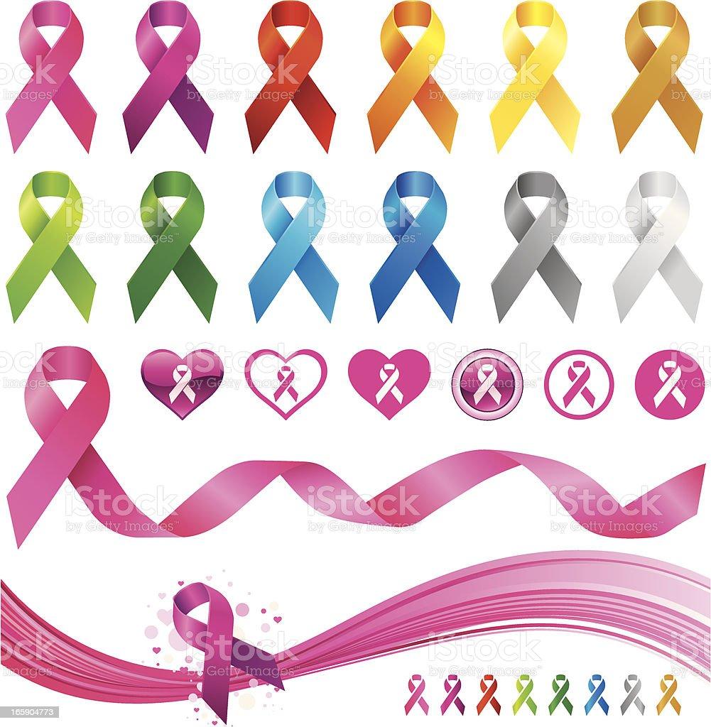 Awareness ribbons royalty-free awareness ribbons stock vector art & more images of aids