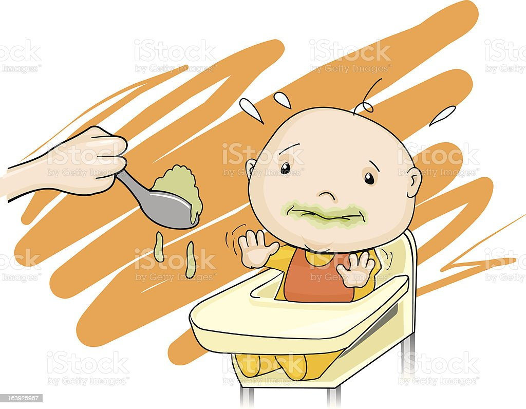 royalty free not hungry clip art vector images illustrations istock rh istockphoto com clipart angry kid hungary clip art