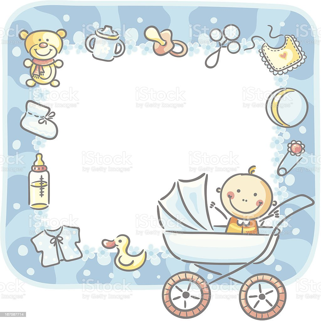 Baby Frame Stock Vector Art & More Images of Baby 167587714 | iStock