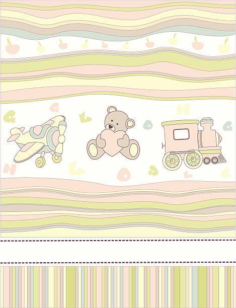illustrazioni stock, clip art, cartoni animati e icone di tendenza di biglietto d'auguri o invito bambino - love word