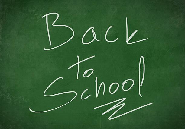 powrót do szkoły tło - back to school stock illustrations