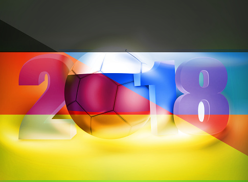 background 2018 Russia Germany Football Soccer