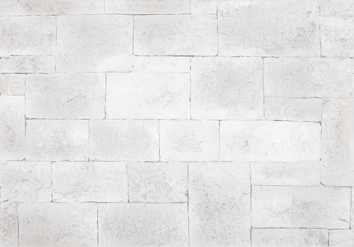 Background - antique stone masonry in large blocks in light colors