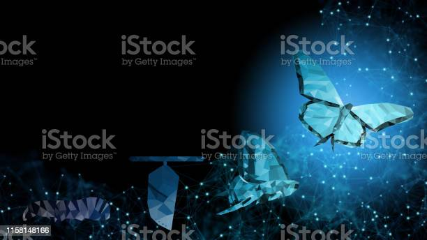 Background Copy Space Business Transformation Innovation Change Management Technology To Blockchain Ai Like Butterfly Life Cycle Imply With Success Future Digitalization Evolution Leadership Strategy - Arte vetorial de stock e mais imagens de 5G