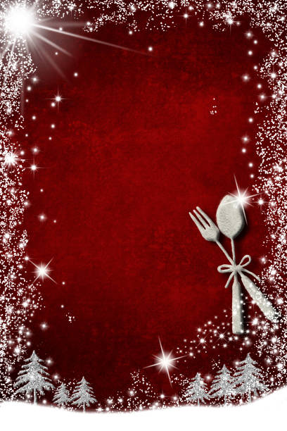 ilustrações de stock, clip art, desenhos animados e ícones de background for write christmas menu, invitation card. - christmas cooking