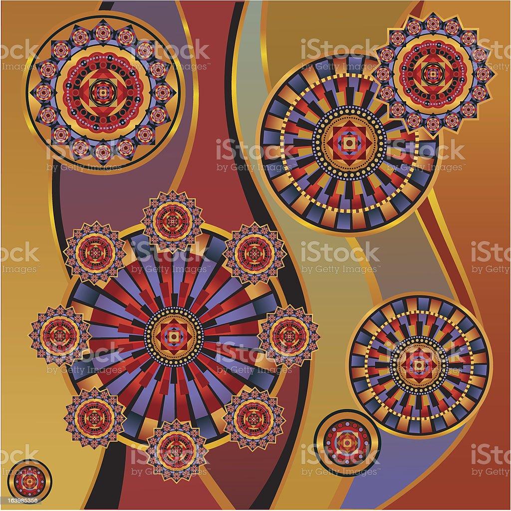 background geometric royalty-free stock vector art