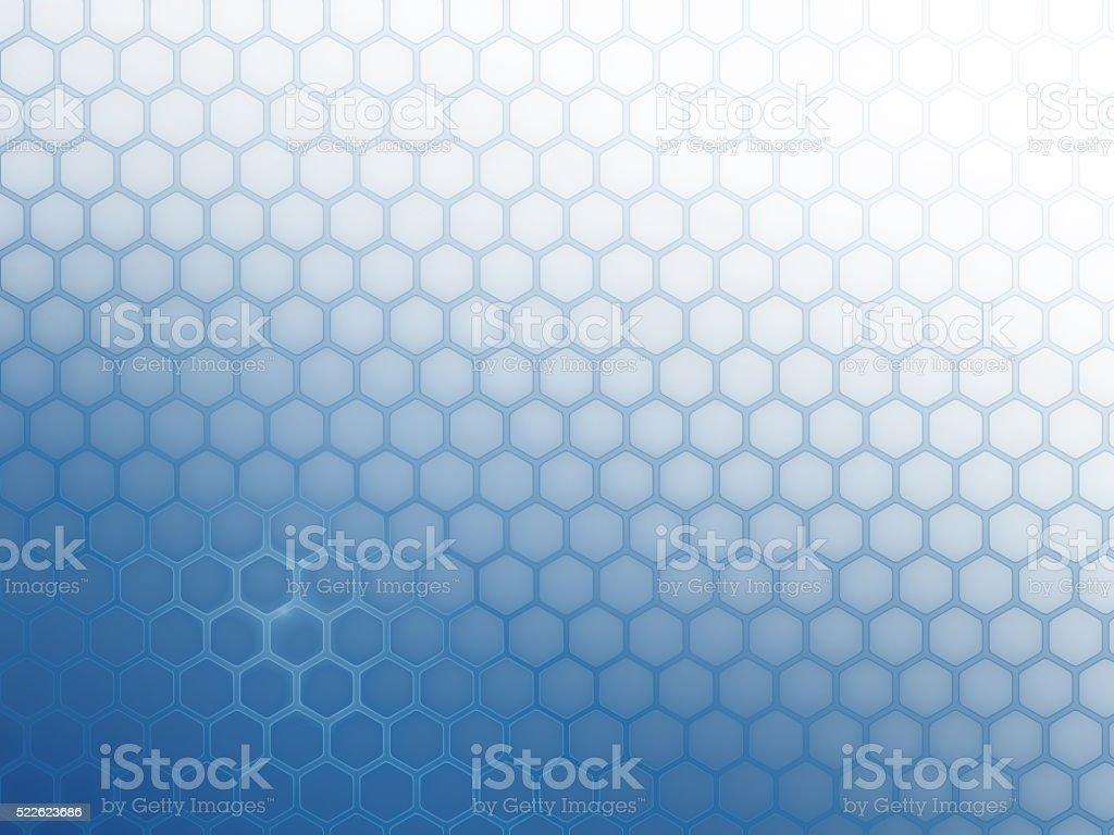 Hintergrund Raster Sechsecke – Vektorgrafik