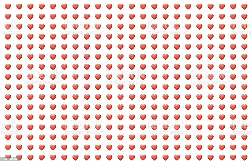 background heart on a white background endless drawing symbol of love holiday holy valentine congratulation - Royalty-free Abstract stock illustration