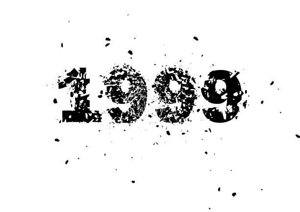 stockillustraties, clipart, cartoons en iconen met achtergrond illustratie abstracte vorm - 1990 1999