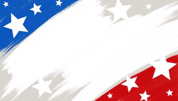 USA background American style backdrop with USA flag elements. patriotic stock illustrations