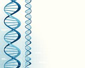Abstract DNA Background.